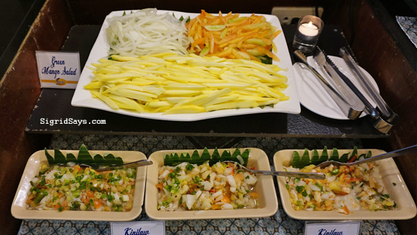 Hometown Iloilo Buffet by Freska - Iloilo Restaurant - Pinoy salads kinilaw