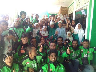 Shelter Soerabaja Jadi Tuan Rumah Kolaborasi KSNB Mitra Gojek dan Arisan Online Umi Afia Lampung