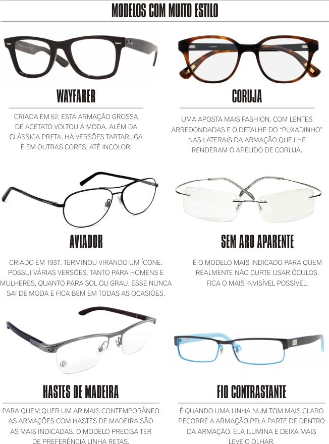 61d8b9e8d81fb ESTILO  Saiba como escolher os óculos de grau ideal para seu rosto e ...