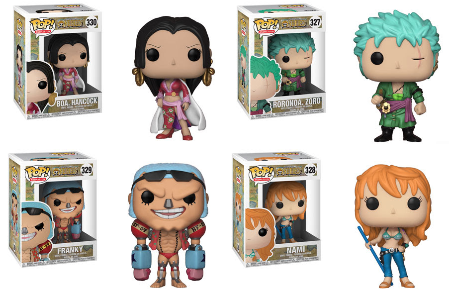 One Piece Series 2 Pop Vinyls From Funko For January 2018
