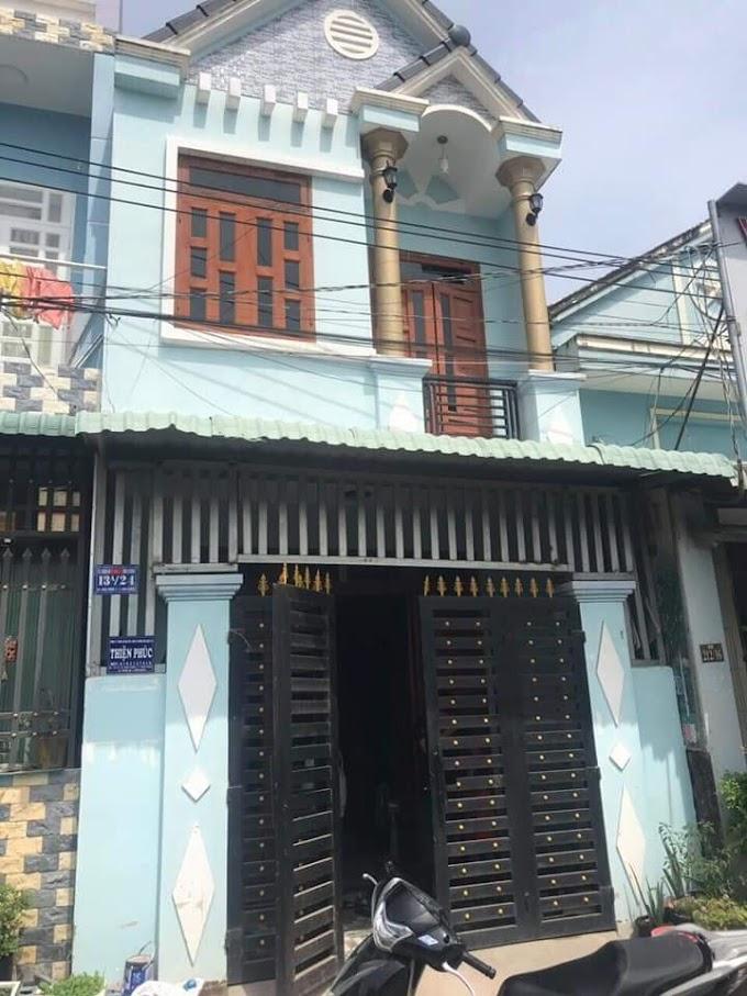 Cần bán nhà lầu trêt SỔ HỒNG RIÊNG ở đường Bình Chuẩn 34, Thuận An, Bình Dương.