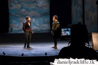 Rosencrantz and Guildenstern are Dead: National Theatre Live camera rehearsal