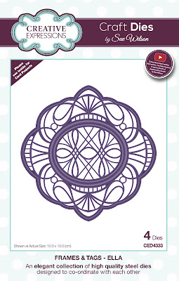 Creative Expressions Frames and Tags Collection Ella Dies CED4333