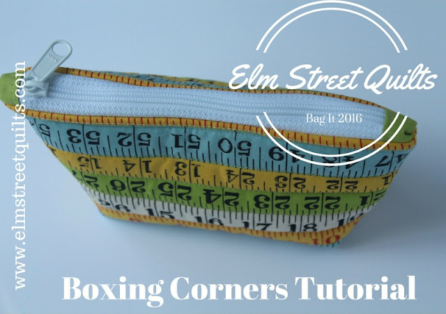Elm Street Quilts Boxing Corners Tutorial