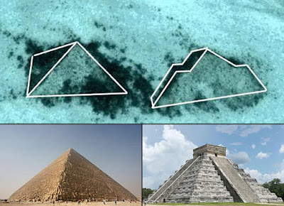 Pyramid images for comparison side by side.