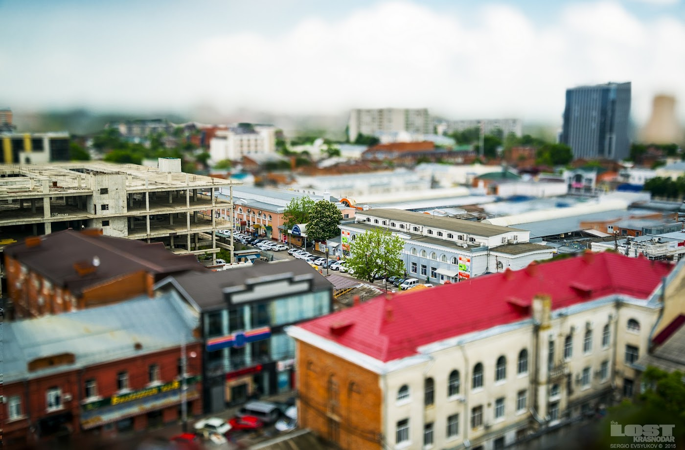 Krasnodar Tilt–shift