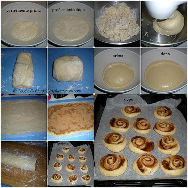 Cinnamon rolls con lievito madre, senza uova, senza burro