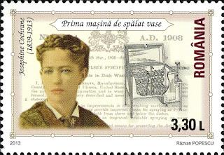 Perangko Josephine Cochrane