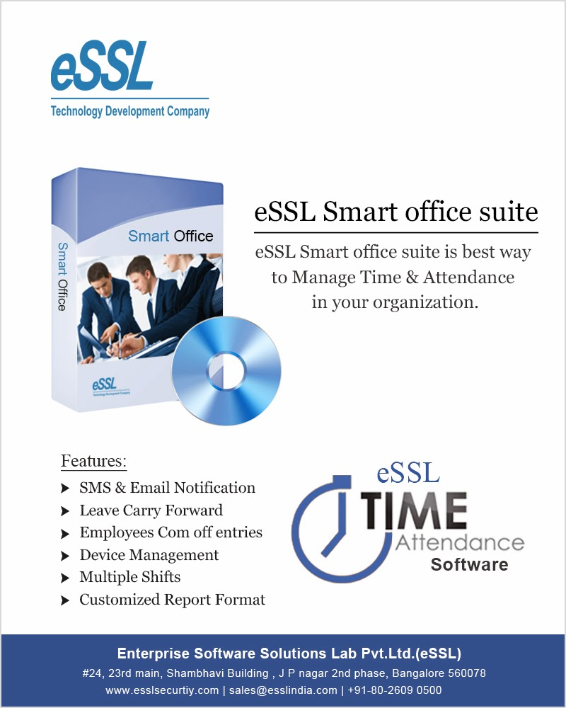 eSSL Time and Attendance Software | eSSL Security