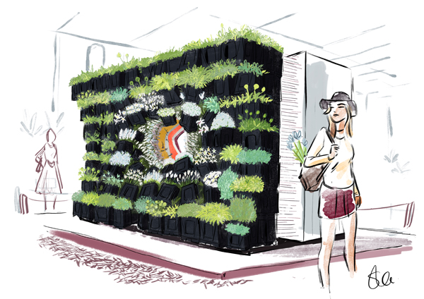 New Covent Garden Flower Market exhibit design for RHS Chelsea