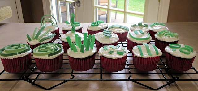 Fun Abstract Art Cupcakes 2