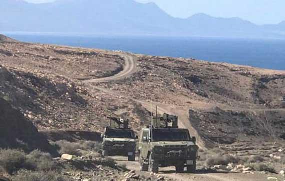 La Brigada 'Canarias' XVI realizará este sábado un ejercicio táctico en el campo de maniobras de 'La Isleta'