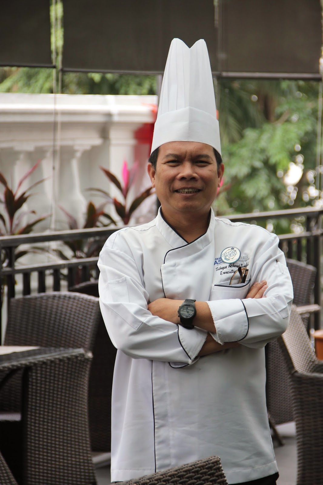 Chef Tubagus Syahril