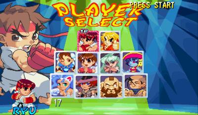Pocket Fighters Capcom
