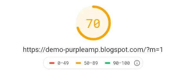 Purple AMP Responsive Personal Blog Magazine Blogger Template Theme