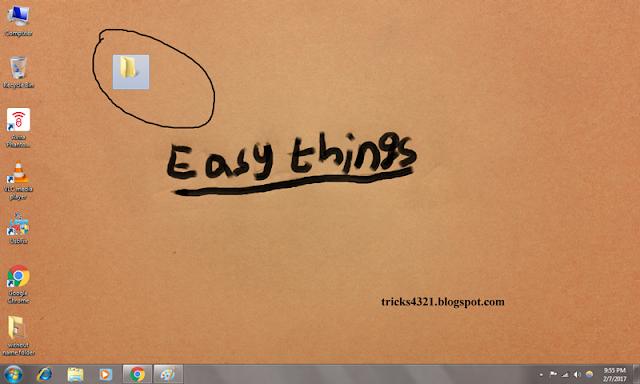 folder without name