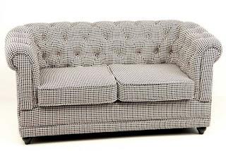 Sofa Tela Capitone Doncel