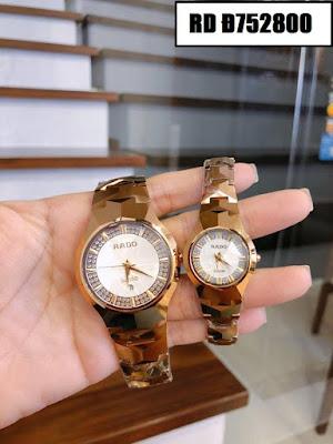Đồng hồ cặp đôi đẹp nhất RD Đ752800
