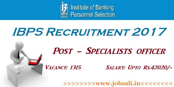 Upcoming Bank Vacancy 2017, Latest Bank Jobs 2017, IBPS Notification