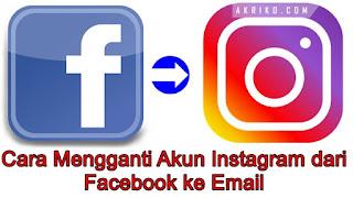 Cara Mengganti Akun Instagram dari Facebook ke Email