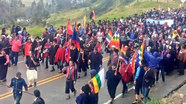 marchas de protesta 13 agosto 2015 ecuador