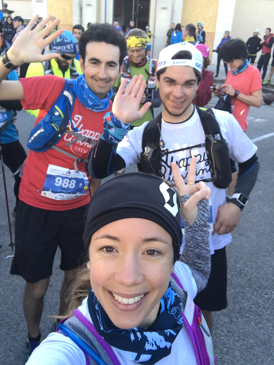 Happy Running Crew Mont Ventoux
