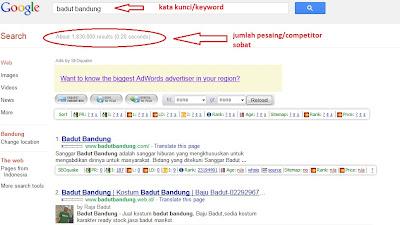 pengenalan dasar google SEO
