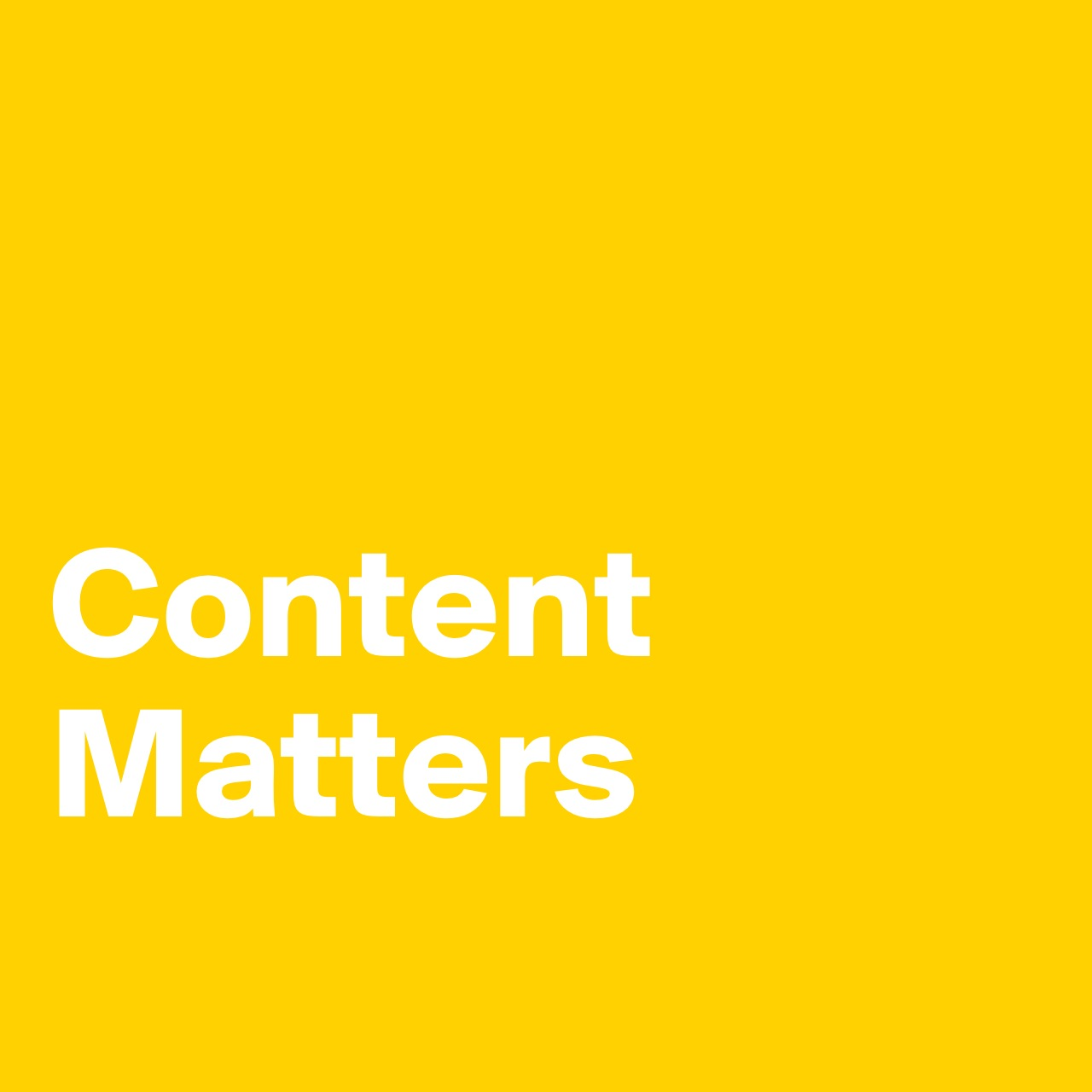 Content Matters, The Red Rabbit Studio