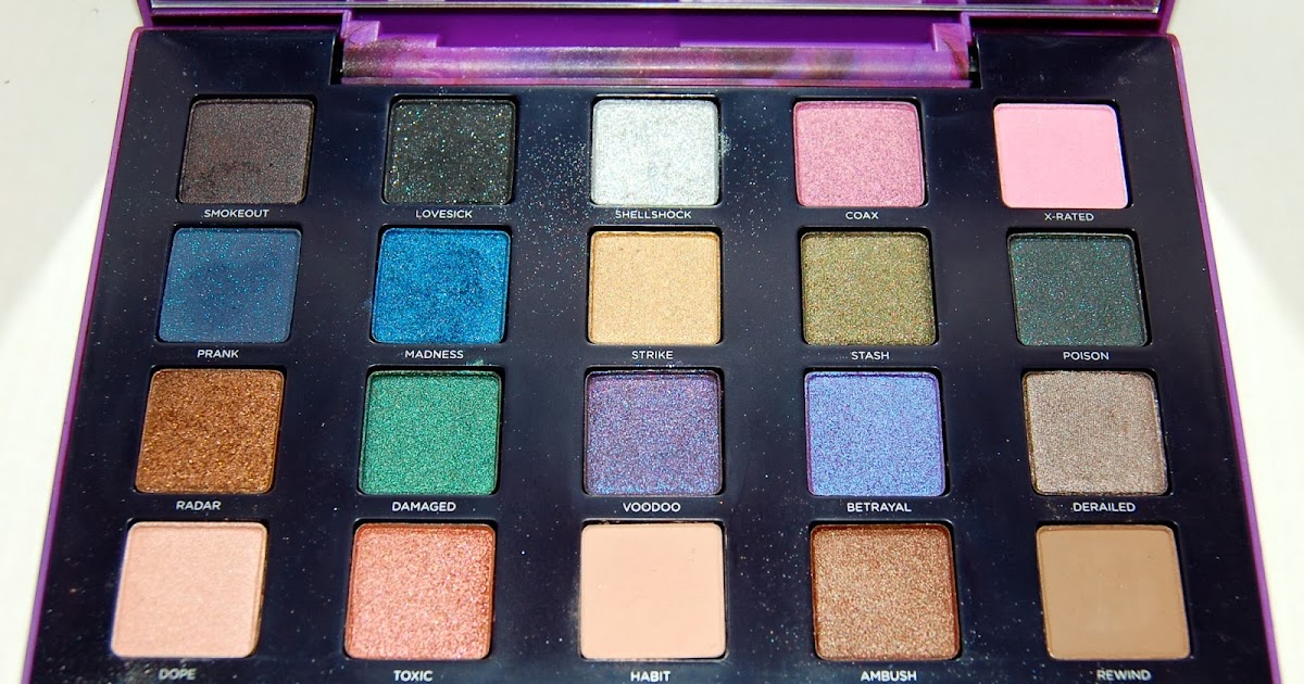 Face Of The Day Featuring The Urban Decay Vice 2 Palette