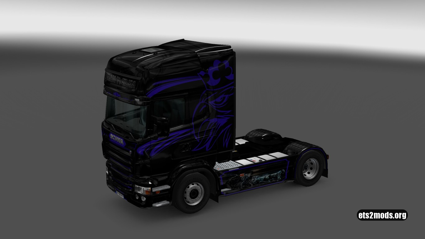 Iron Maiden Skin for Scania RJL