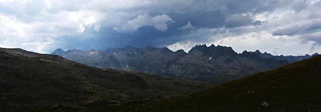 Aiguilles de l'Argentière depuis le Col des Tufs