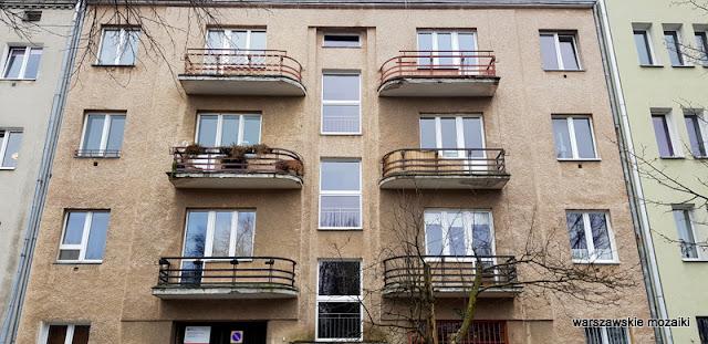 Warszawa Warsaw Mokotów Mokotow ulice Mokotowa architektura kamienica