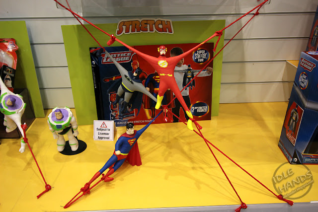 Toy Fair 2017 Character Group Stretch Figures DC Comics Justice League