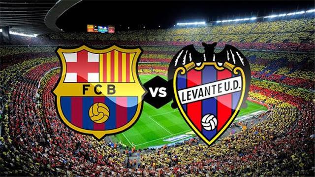 نتيجة  مباراة برشلونة وليفانتي اليوم 17-01-2019 3-0 كأس ملك إسبانيا