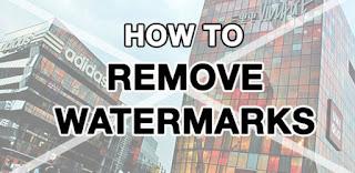 Cara Menghapus Watermark Gambar Online