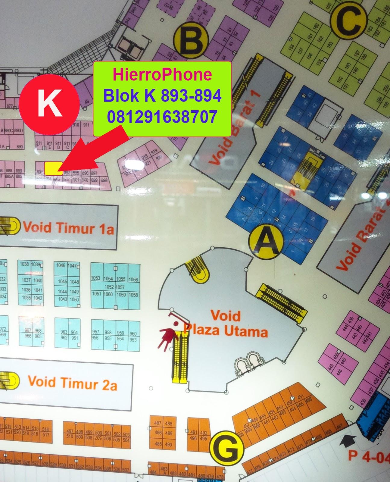 HierroPhone ITC Cempaka Mas Jakarta  Kredit HP ITC Cempaka Mas Jakarta Tanpa  Kartu Kredit ee975ace3a