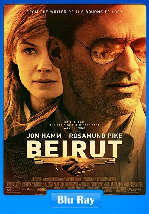 Beirut 2018 720p BluRay x264   480p 300MB   100MB HEVC