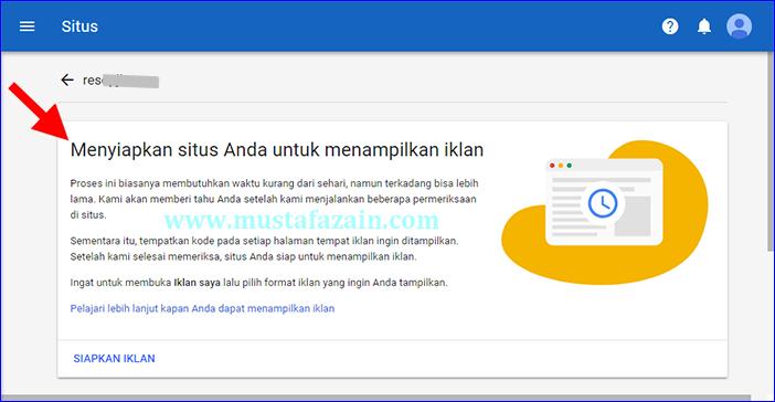Cara Menambahkan Situs di Google Adsense Terbaru 2018