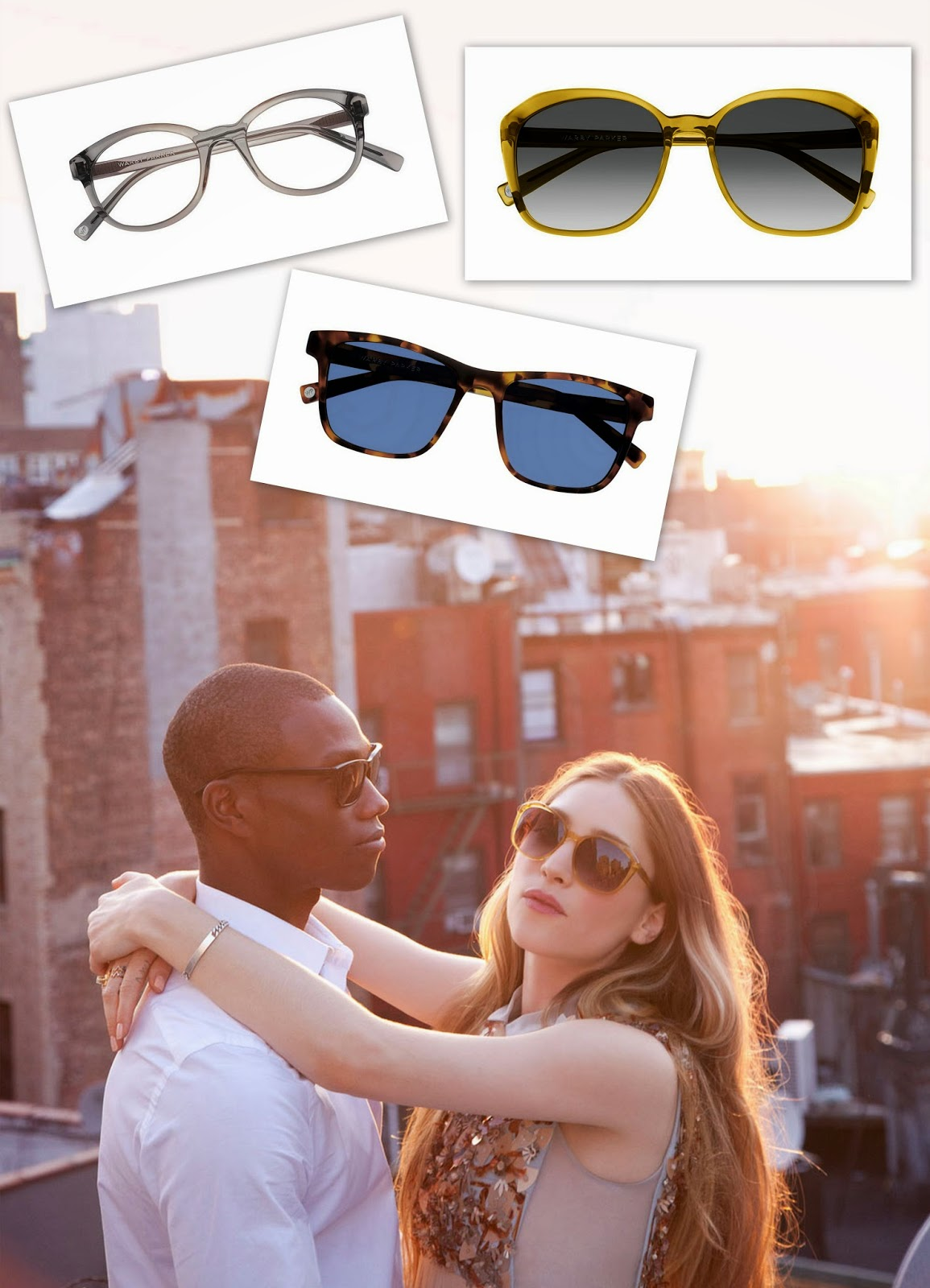 beacon collection, warby parker, sunglasses