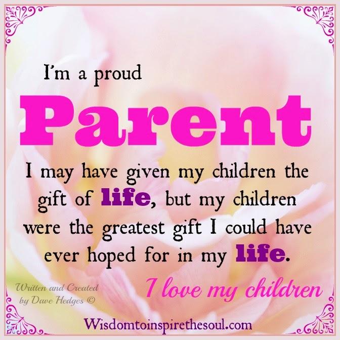Inspirational Quotes About Proud Parents. QuotesGram