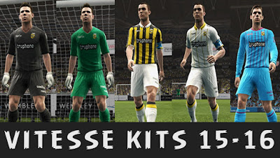 SBV Vitesse Kits 2015/2016 by KP