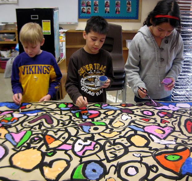 Experiments In Art Education Collaborative Mural Painting