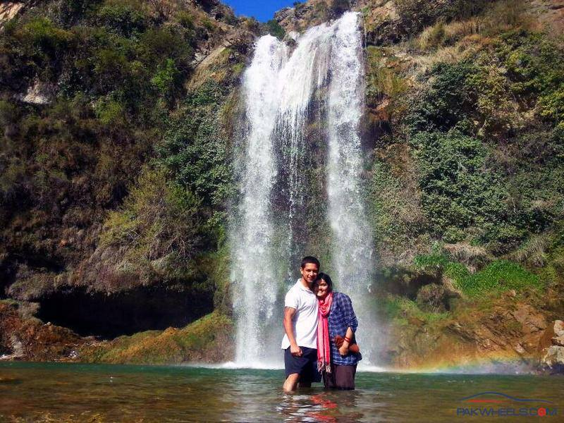 Waterfalls at Sajjikot, Takiya Sheikhan, Havelian, Abbottabad, Pakistan