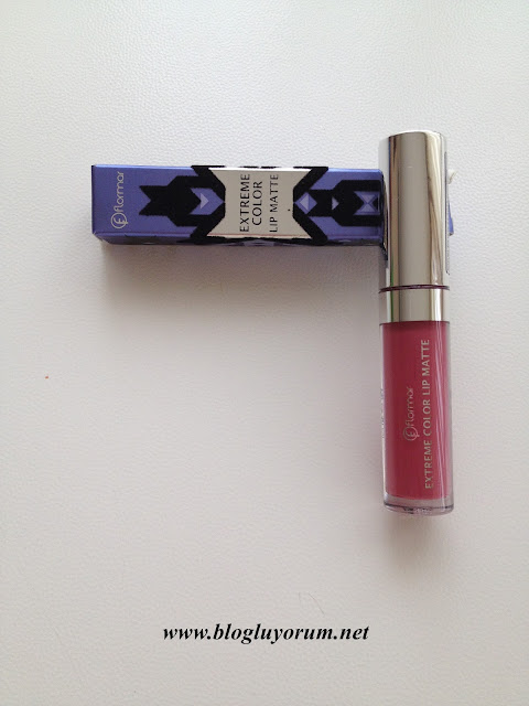 FLORMAR EXTREME COLOR LIP MATTE 03 FLASHBACK RUJ