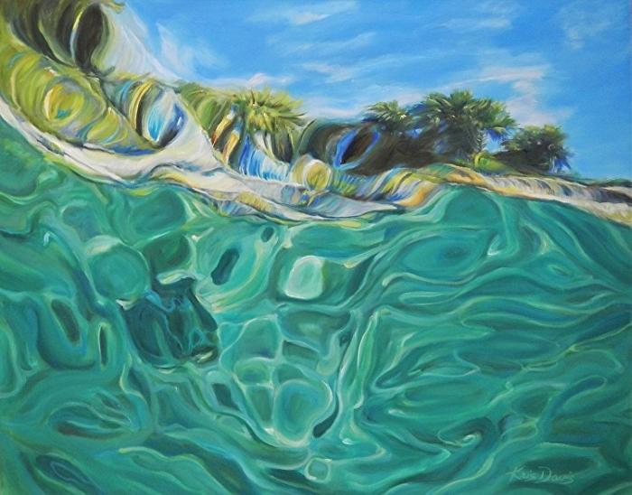 Бассейны и прибрежные воды Флориды.