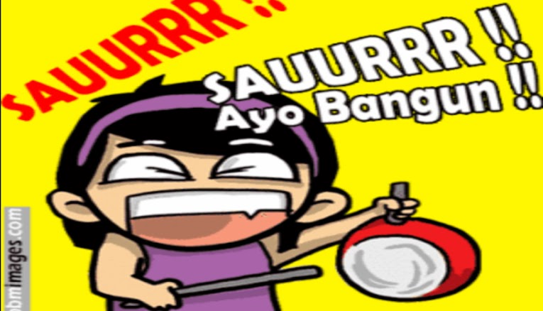 Download 43+ Gambar Bergerak Lucu Bangunin Sahur Paling Lucu