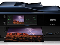Epson Artisan 837 Wi-Fi or Wired Networking Setup
