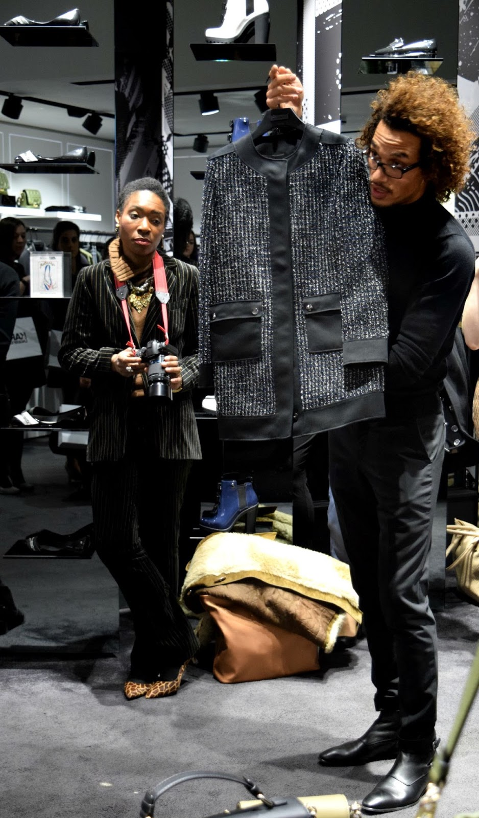 Karl Lagerfeld collection presentation in store
