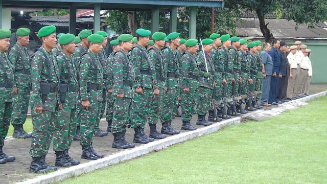 Latihan Permildas, Sarapan Minggu Militer Kodim 0735/Surakarta Dihari Pertama