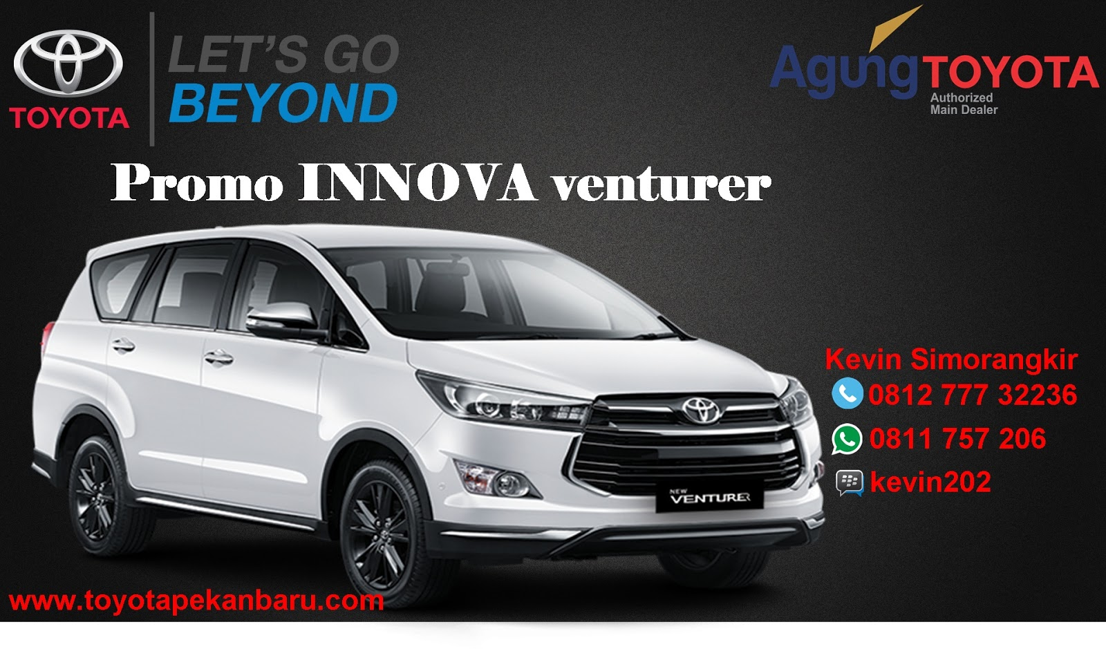 harga all new innova venturer 2018 toyota grand veloz 2015 info promo april pekanbaru riau